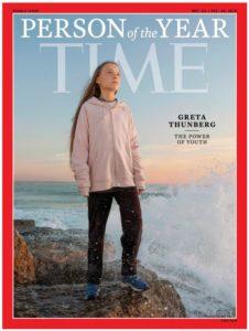 TIME cover of Greta Thunberg