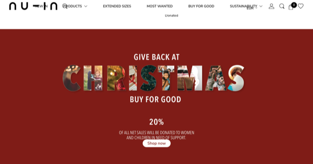 Screenshot Nu-In Website